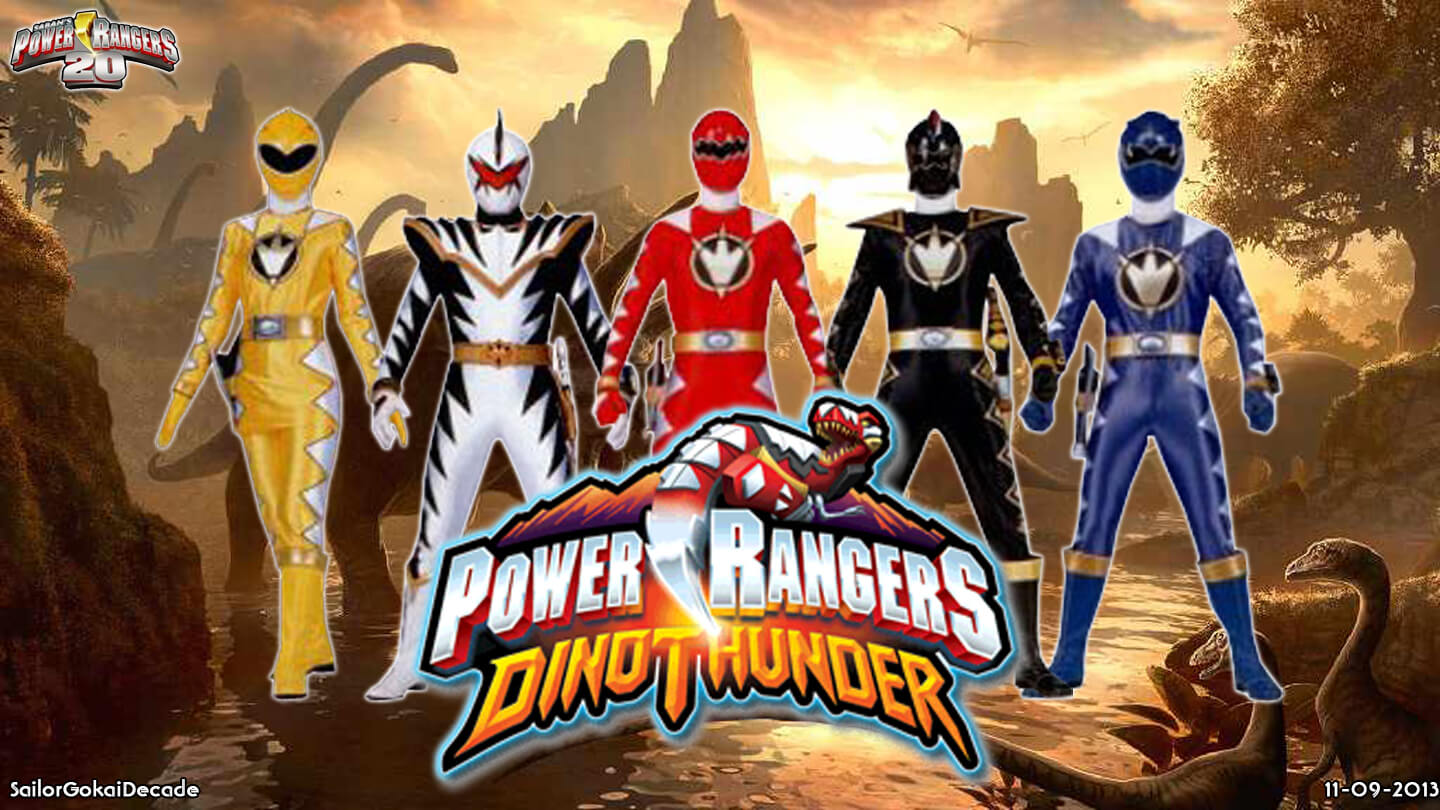 power rangers dino thunder games